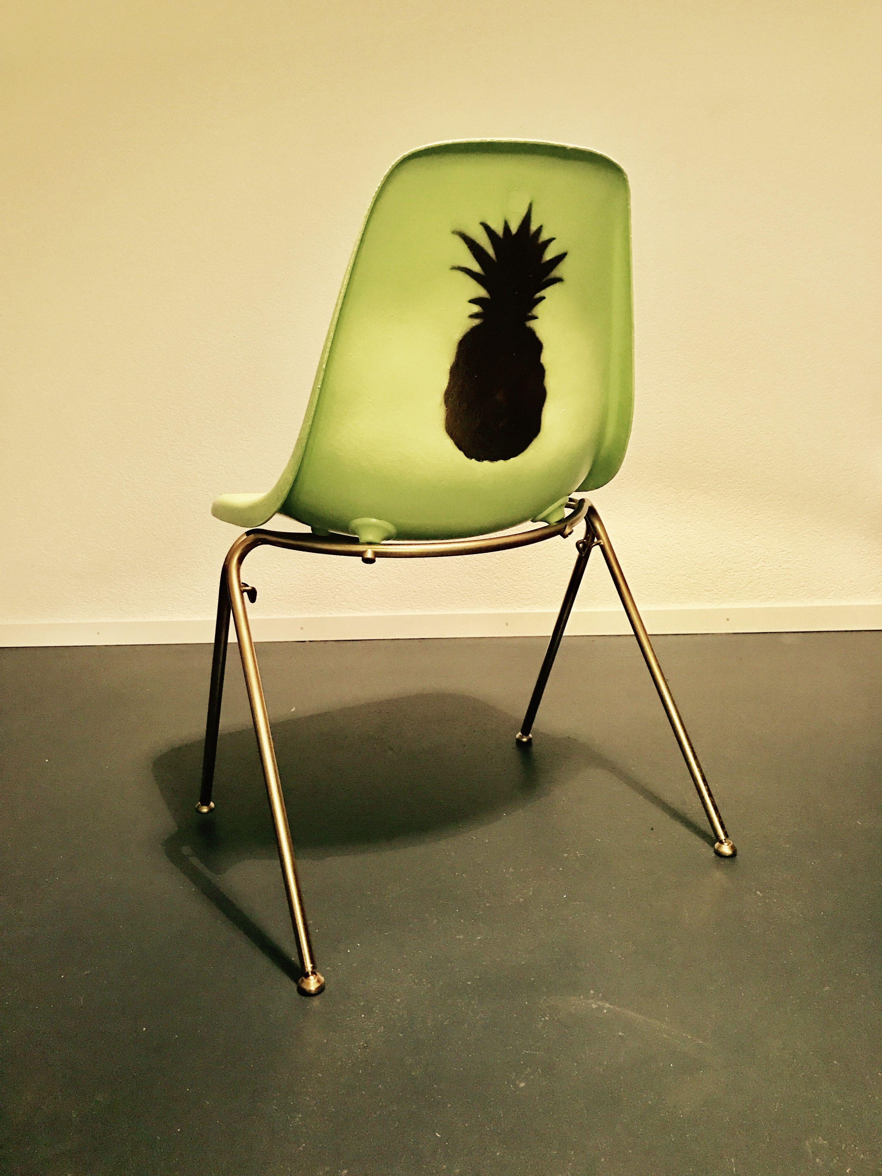 Industrial chair Green pineapple Atel er