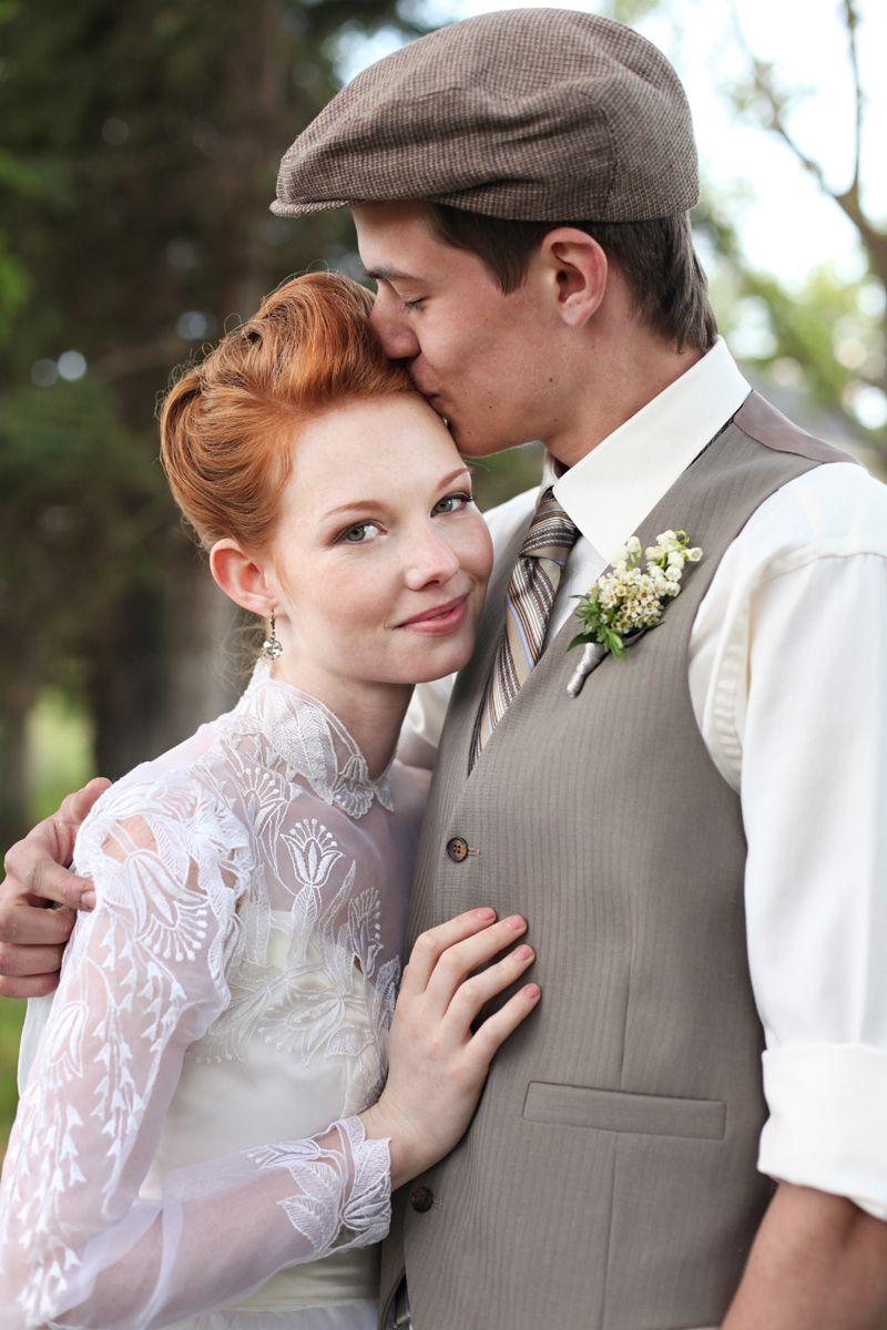 Muy romántico este conjunto casual para matrimonios al aire libre ...