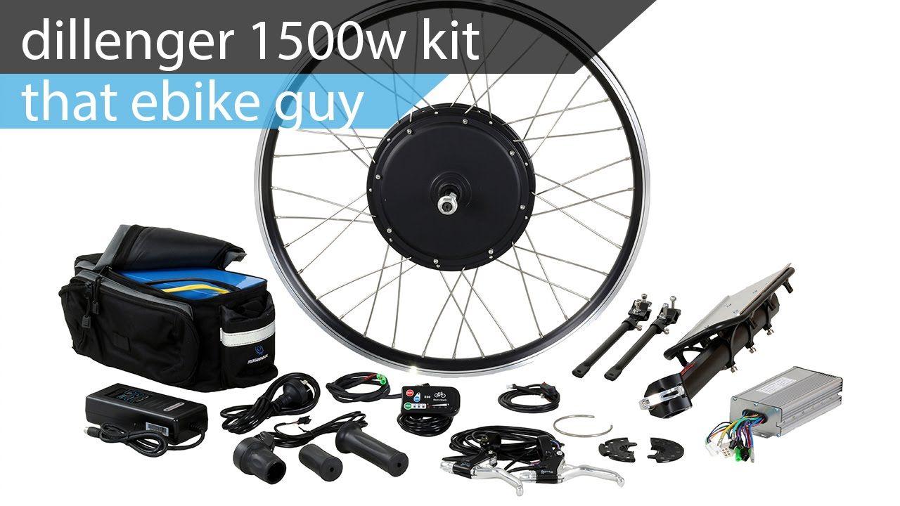 That E Bike Guy Dillenger 1500w Upgraded Kit Electric Bike