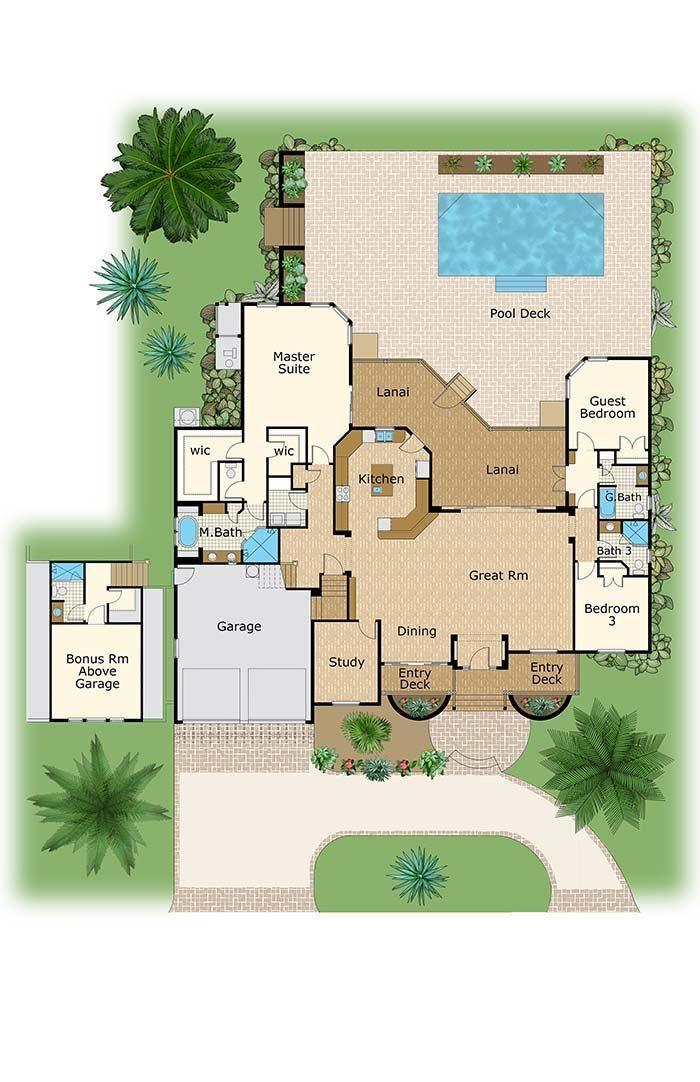 Room Floor Plan Designer Free: 02 July 2019 Admin 3 Bedroom House Plans: See 60 Modern