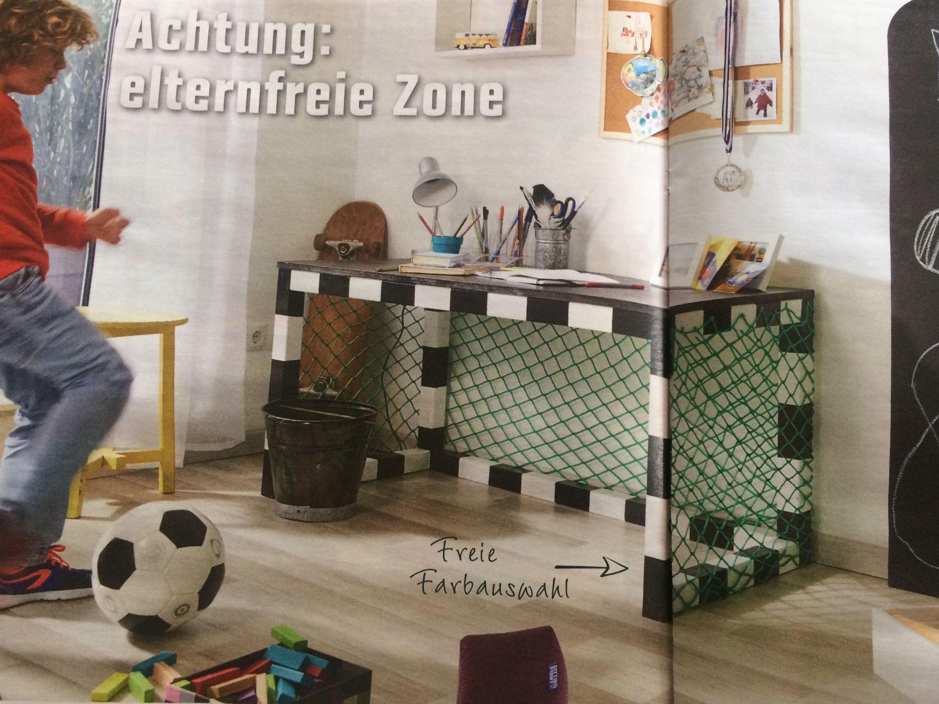 Schreibtisch Kinderzimmer Fussball Jungs Tor In 2019