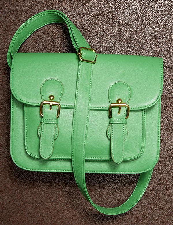 Green crossbody bag Crossbody bag, Purses