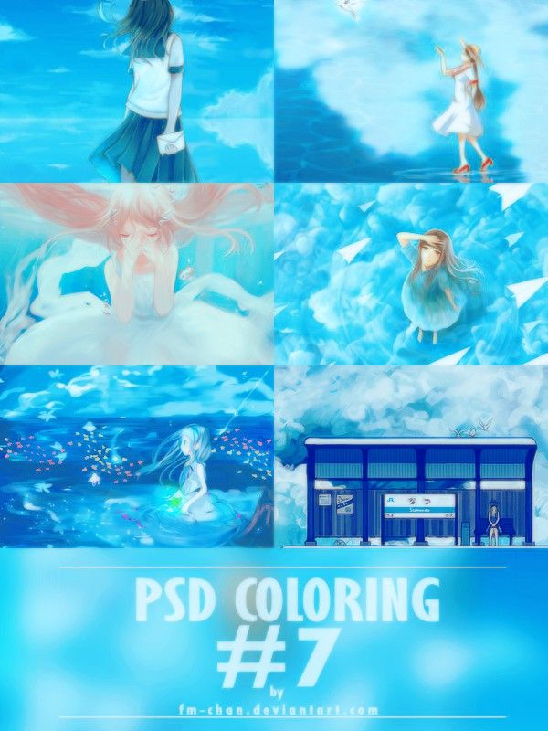 PSD Blue Color