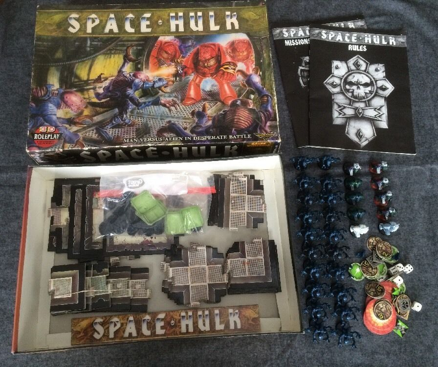 Warhammer 40k Space Hulk 1st.edition board game Complete