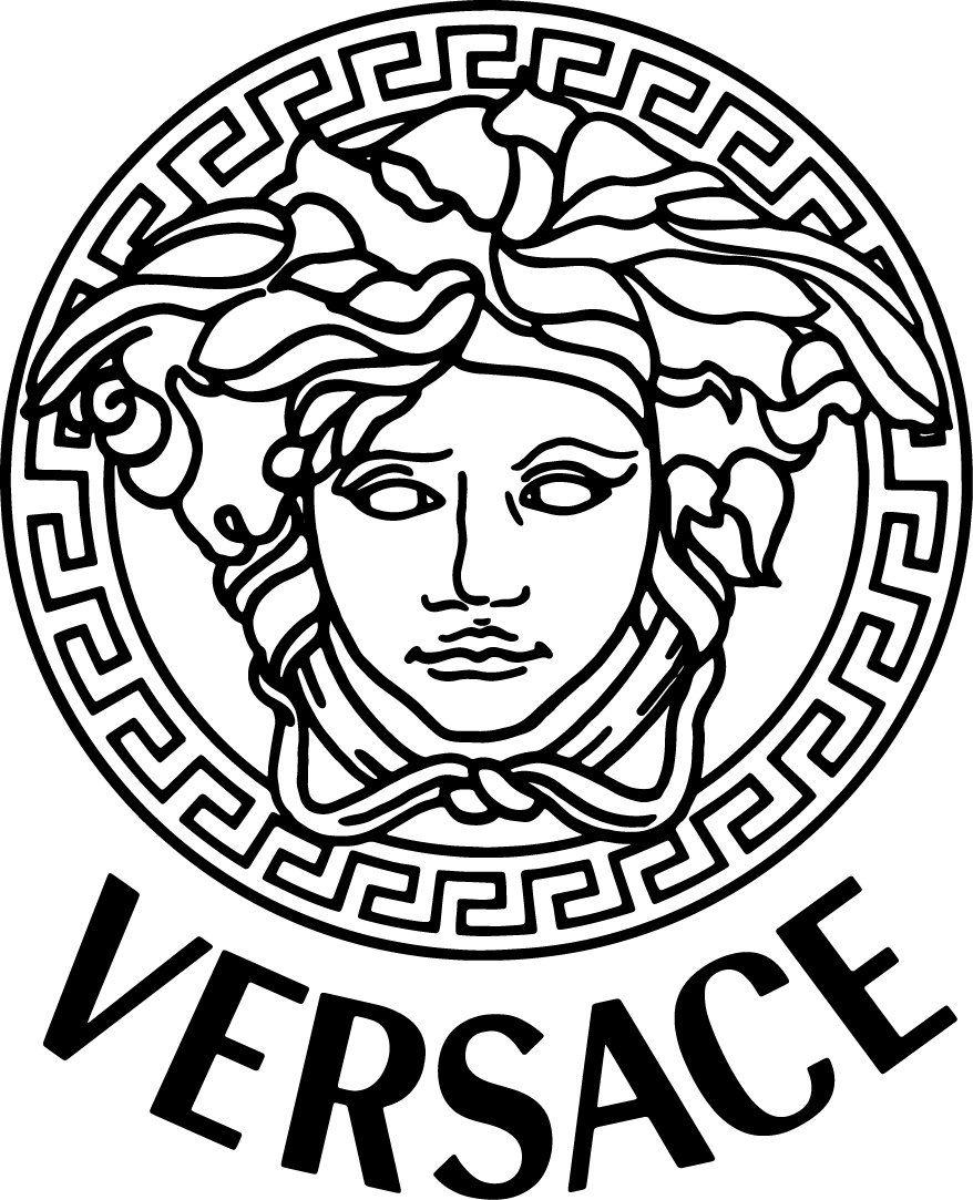 Versace Svg Versace Logo Svg Digital Download For Cricut Silhouette Printable Svg Dxf Eps Png Versace Logo Versace Fashion Company