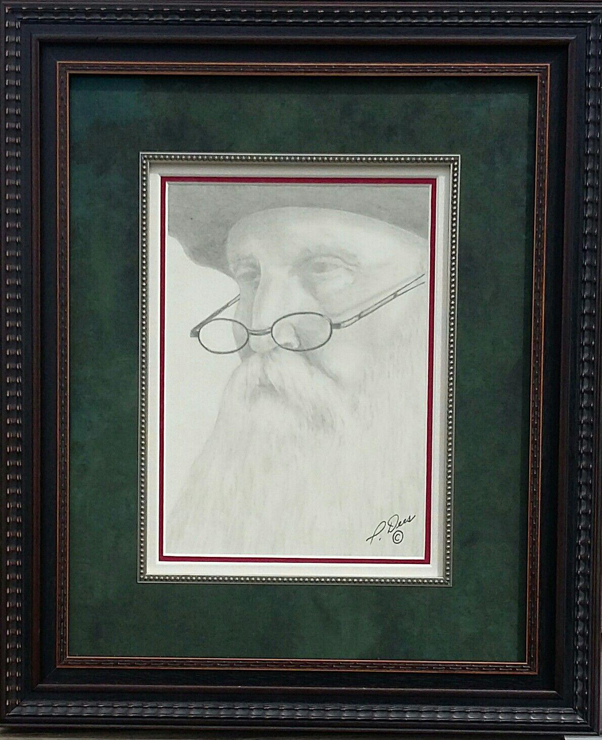 Self Portrait With Glasses By The Artist Preston Les