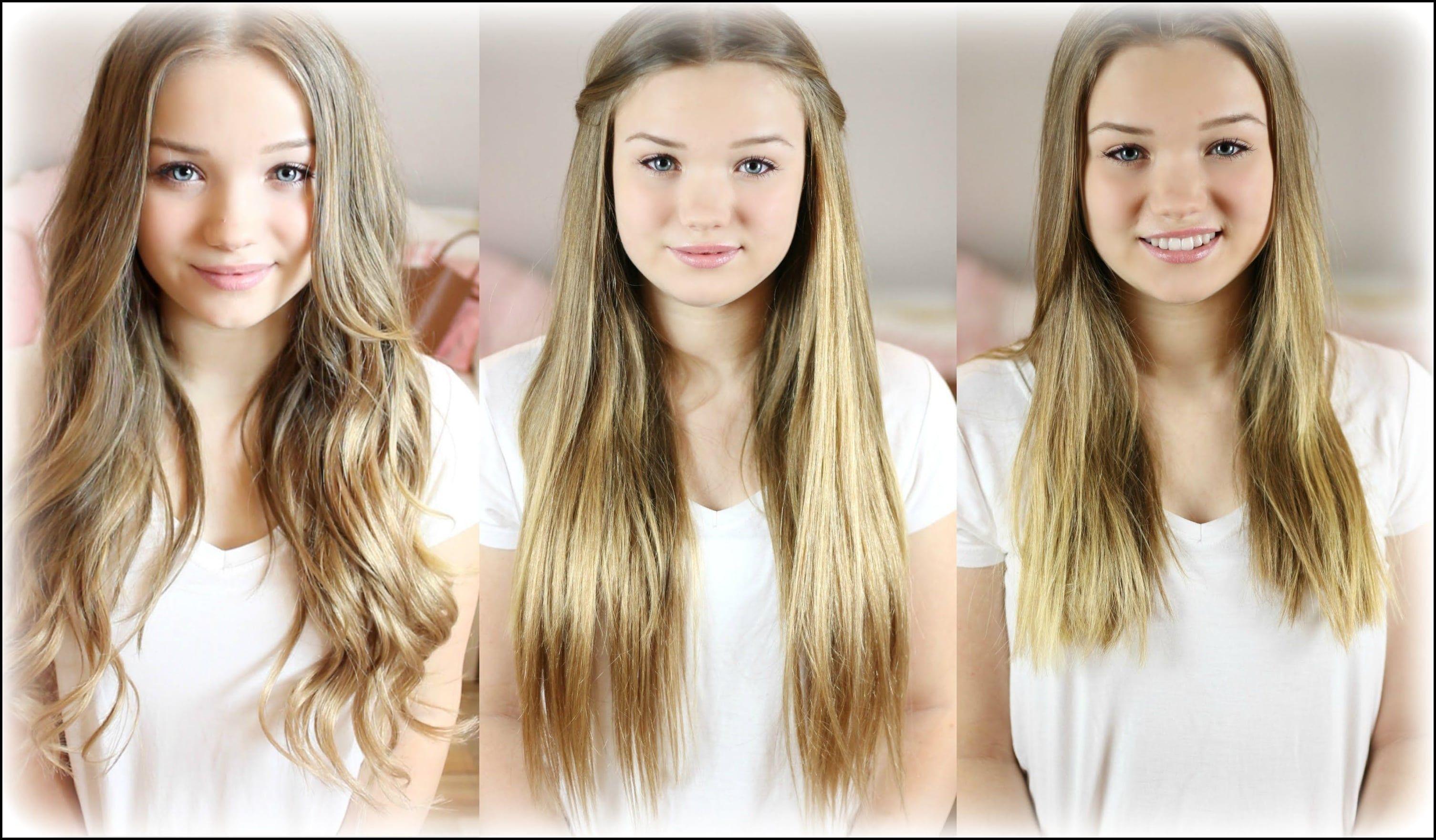 Extensions Haare Verstecken Frisuren How To Locahair Haare