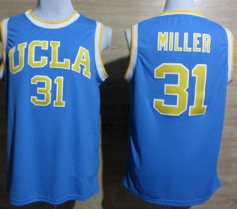 new arrivals be965 2e3bf UCLA Bruins #31 Reggie Miller Throwback Jersey | Los Angeles ...