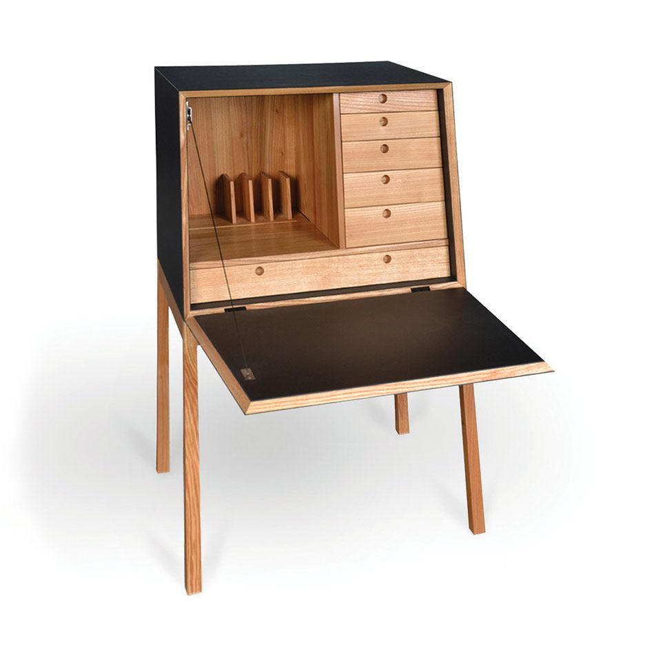 Mini Sekretär Sekretär Von Theresa Von Bodelschwingh Woodworking Desk Wooden