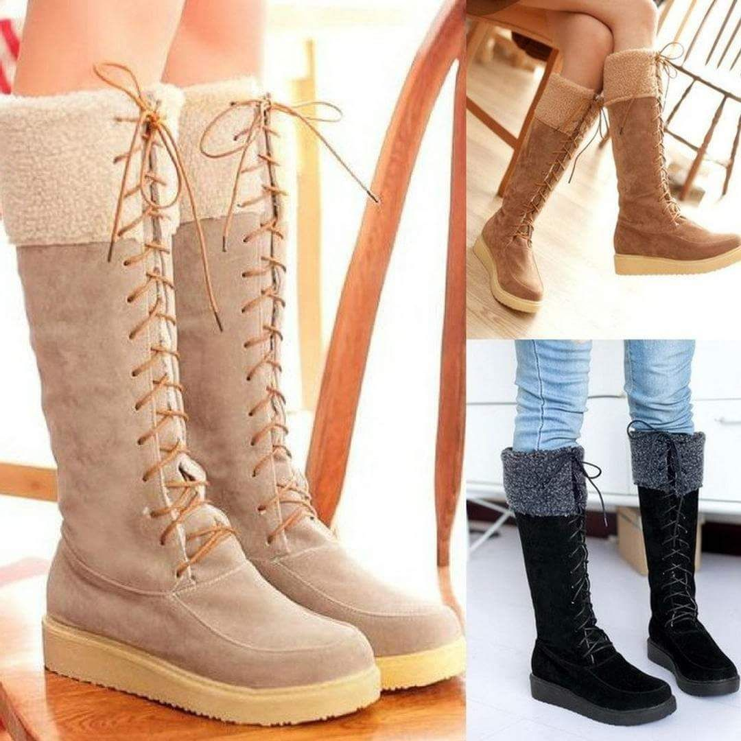 43 comfort giving warm winter shoe ideas for women | footwear and