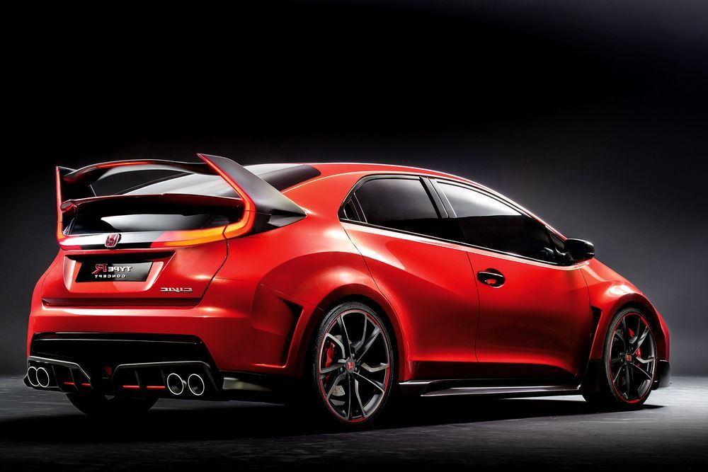 Honda Civic Type R Release Date Usa >> 2015 Honda Civic Type R Concept 2015 Honda Civic Type R