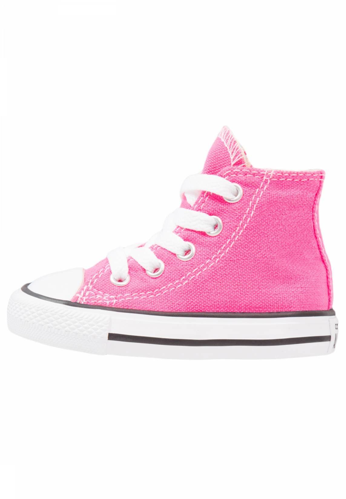 245014b403cc Converse. CHUCK TAYLOR ALL STAR - Zapatillas altas - pink pow. Suela fibra