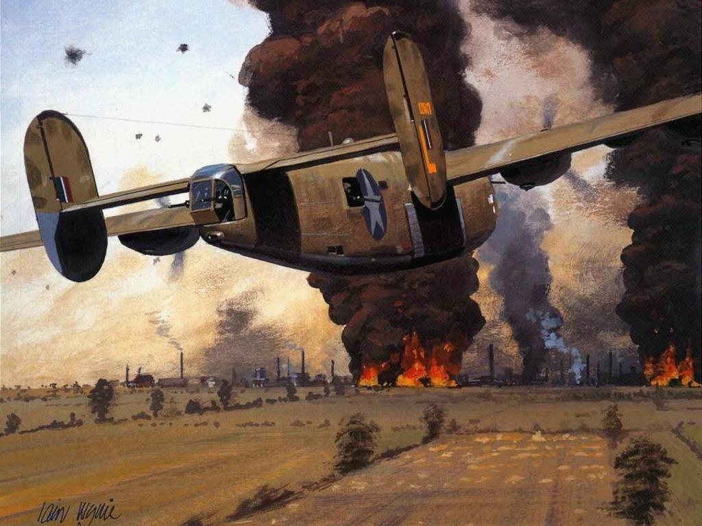 Обои war, painting, aviation, ww2, aircraft, air combat, P 47 thunderbolt, drawing, dogfight. Авиация