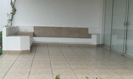 Muebles de obra o concreto para tu terraza, ¡resistentes y durables!  Terraz...