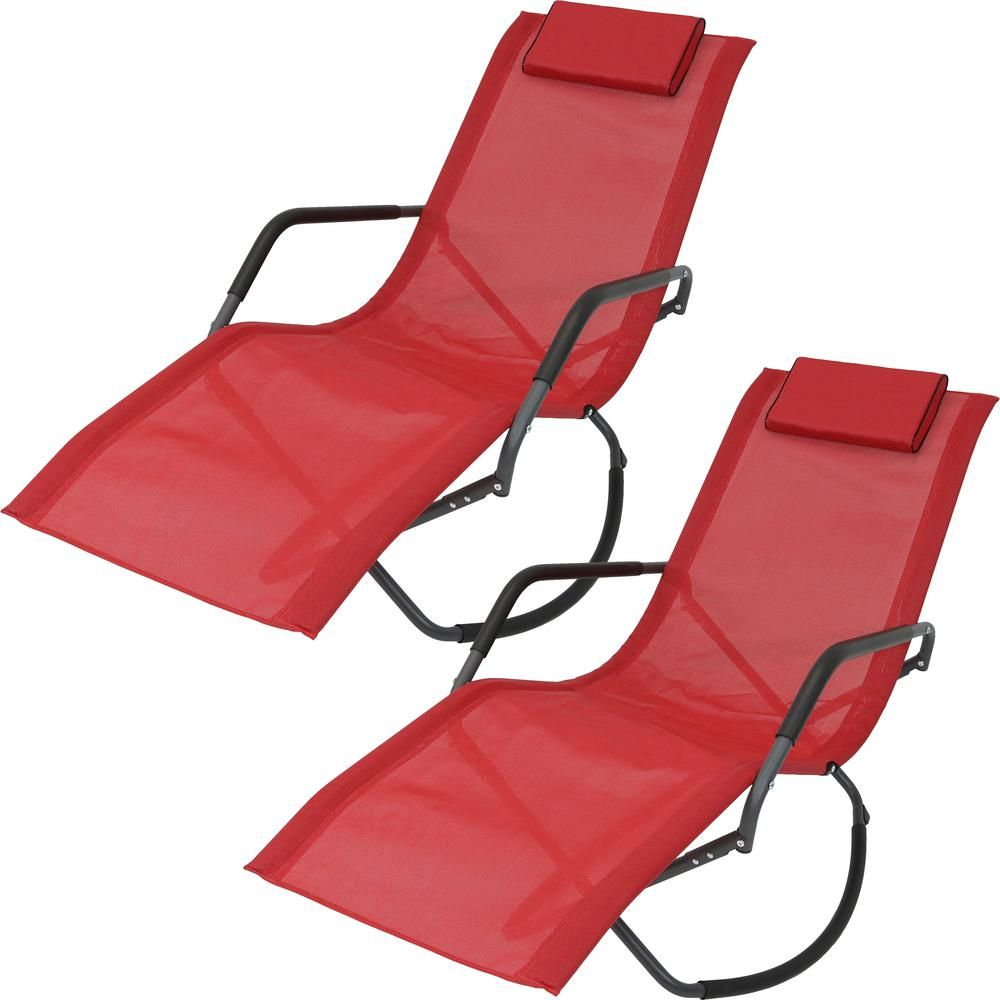 Rocking Sling Outdoor Lounge Chair