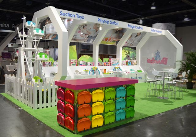 Kids Exhibition Booth : Booth design for kids and the necessary
