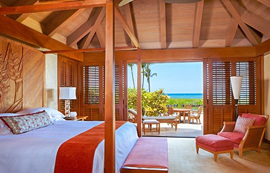 Luxury Hotel Bungalows In Hawaii Mauna Lani Resort Island