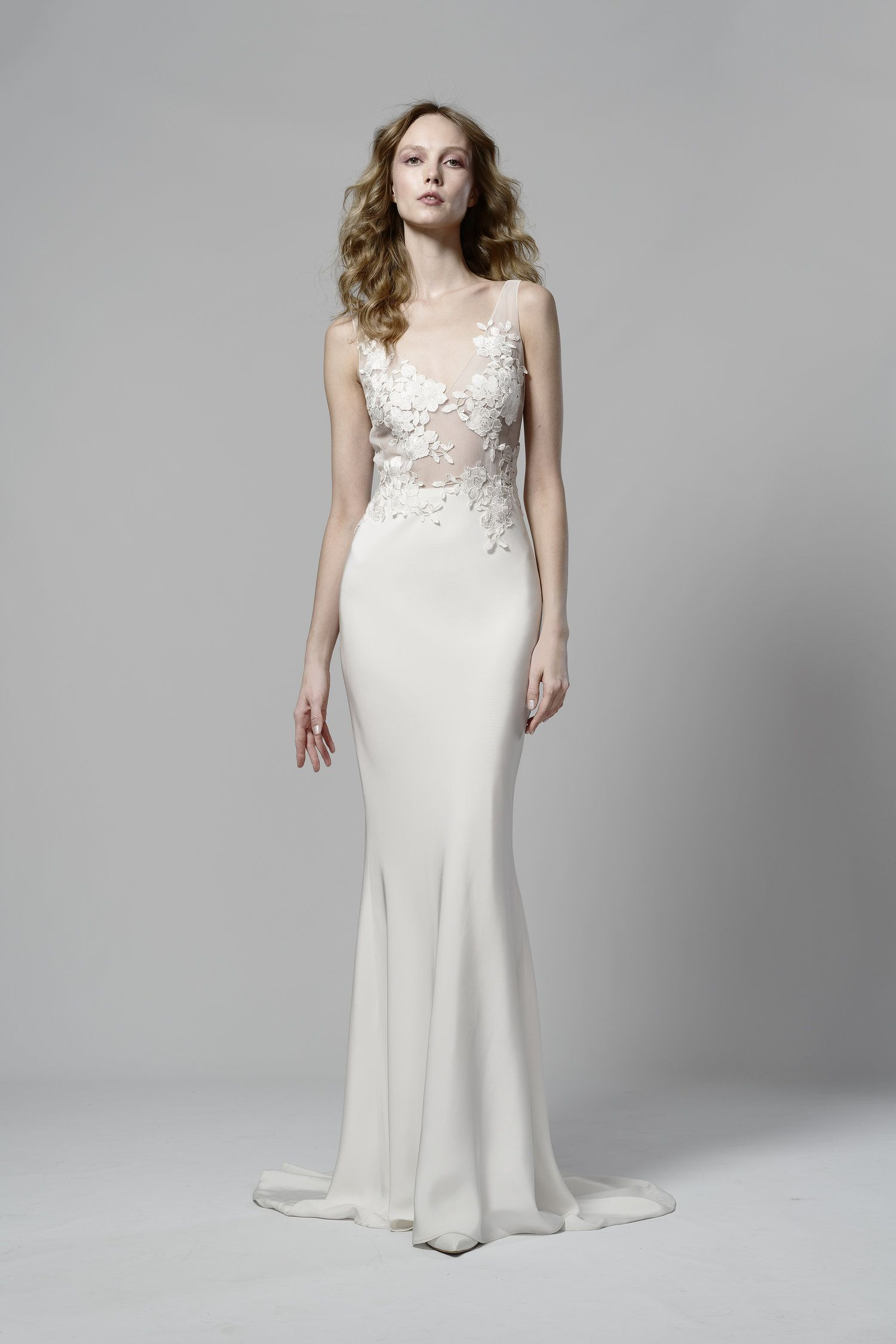 V Neck Freesia In 2020 Wedding Dresses Dresses Elizabeth Fillmore