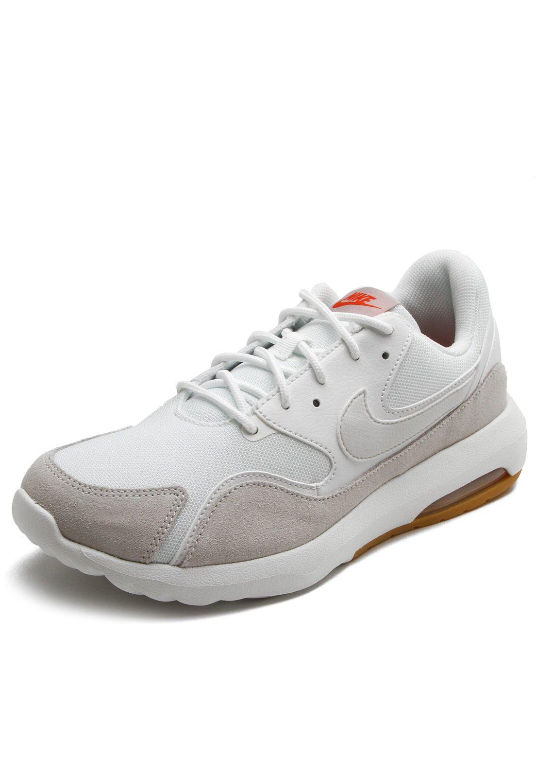 Tênis Nike Sportswear Air Max Nostalgic BrancoCinza