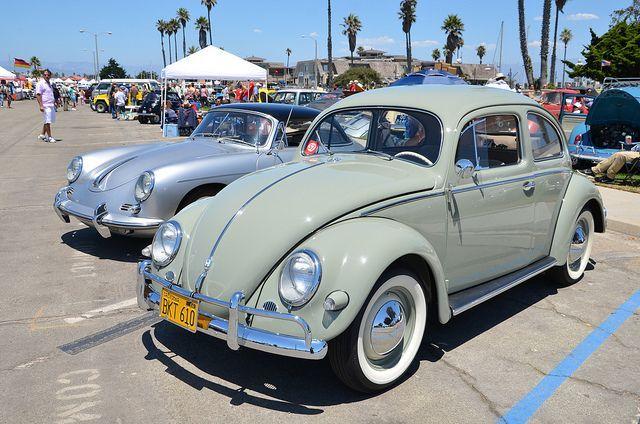 VINTAGE VW CAR SHOW HARBOR PARK OXNARD CALIFORNIA By Navymailman - Oxnard car show