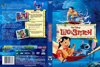 Lilo E Stitch Capa Desenho Dvd Lilo E Stitch Dvd Desenho
