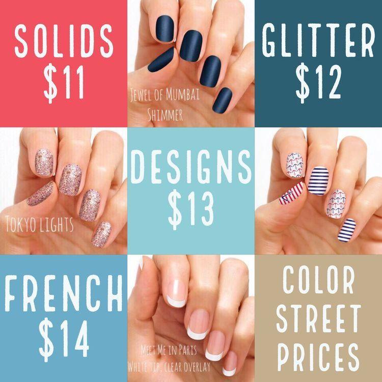 Polish Me Pretty Nail Bar Prices - Creative Touch