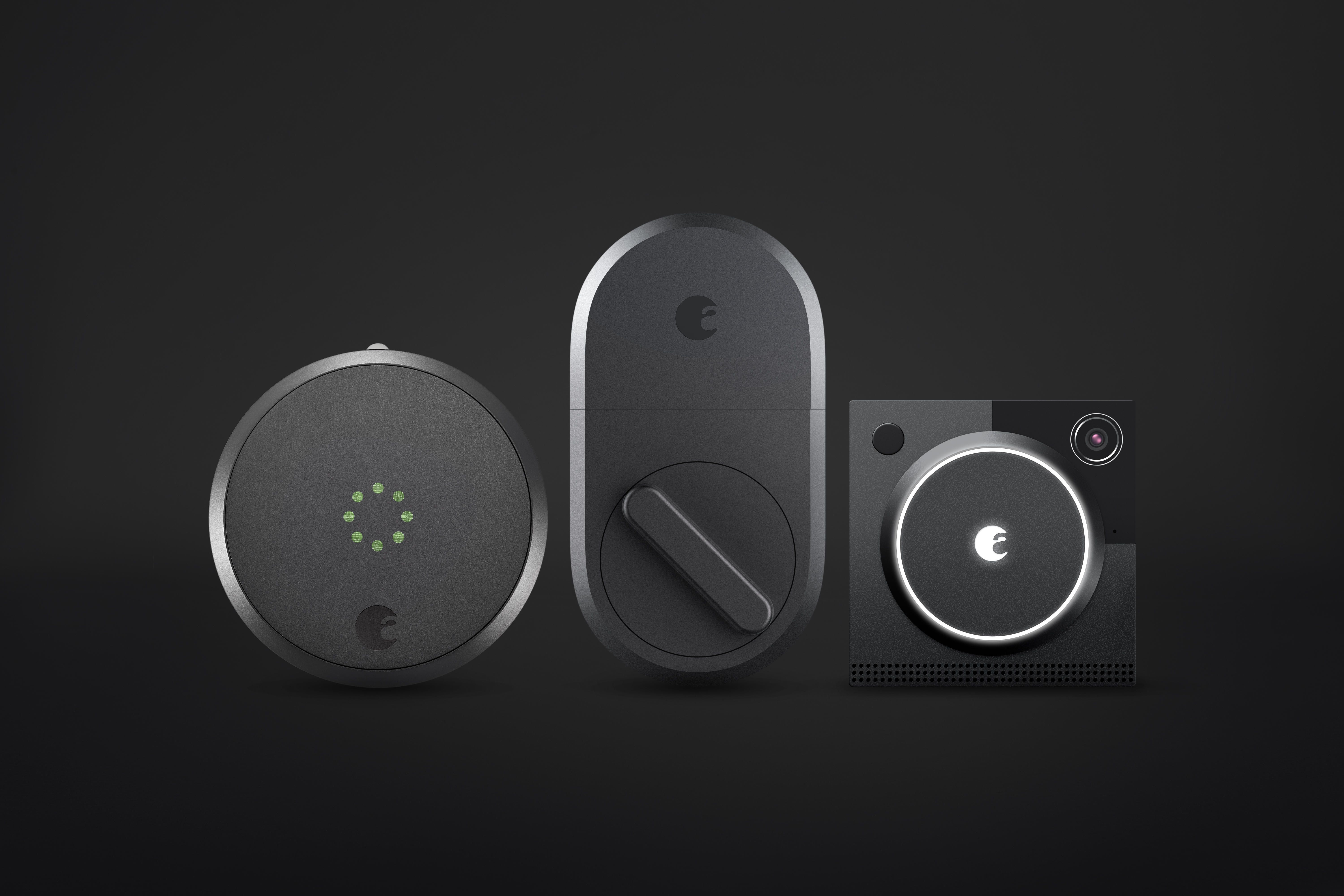 August S Smart Home Line Just Doubled In Size August Smart Lock Smart Home Security Smart Home Control
