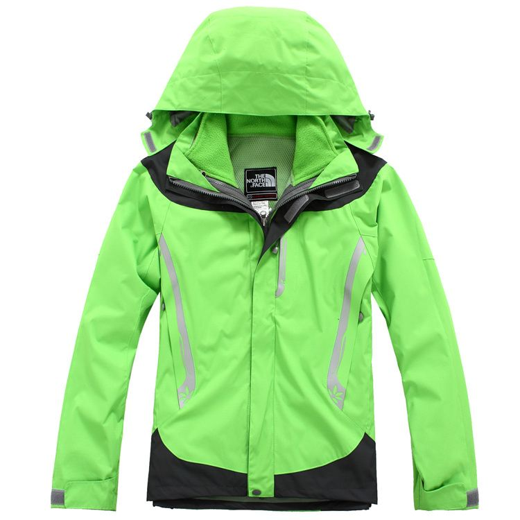 The North Face Womens Gore Tex Xcr Jackets Lime Green Dark Grey ...