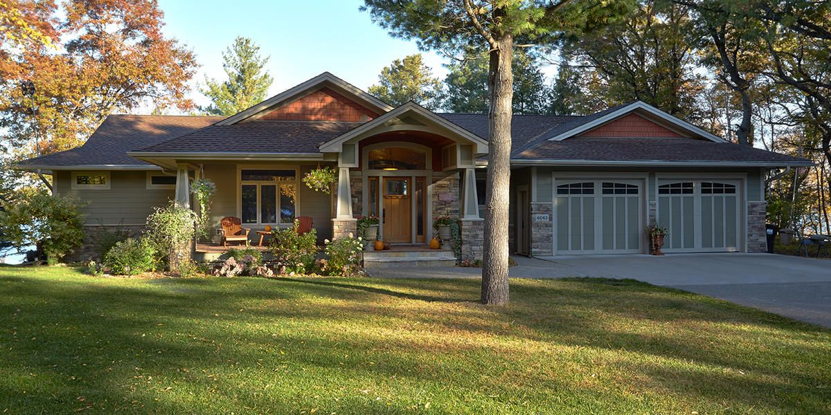 From aging rambler to prairie classic green building for Rambler house plans mn