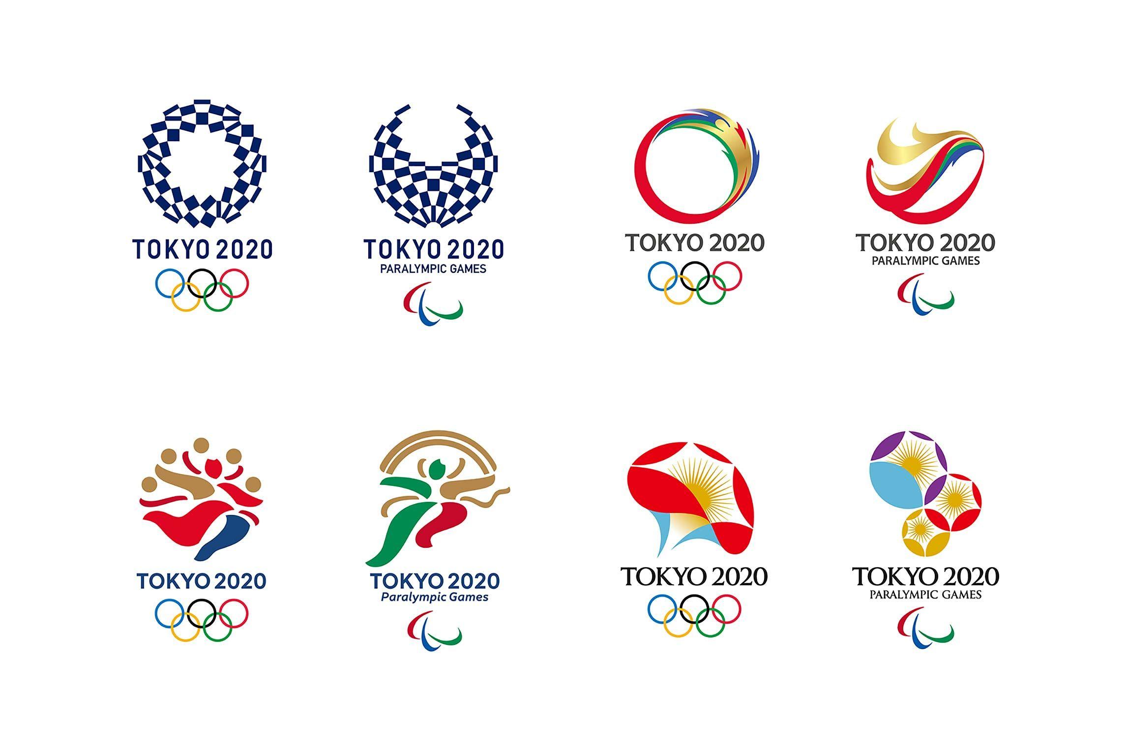 Tokyo 2020 Logo Shortlist Revealed Olympic logo, Japan
