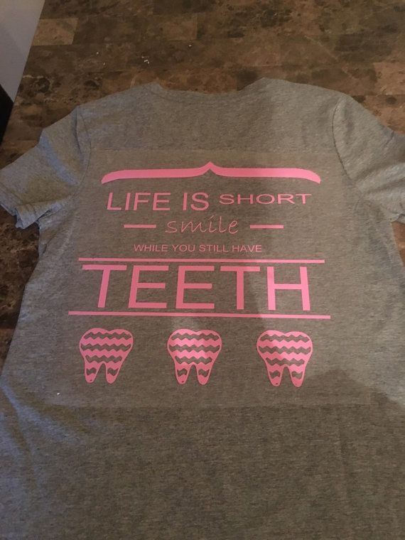 62b0ee40 Dental TShirts, RDH, Cute Dental Shirts | Dental humor | Dental ...