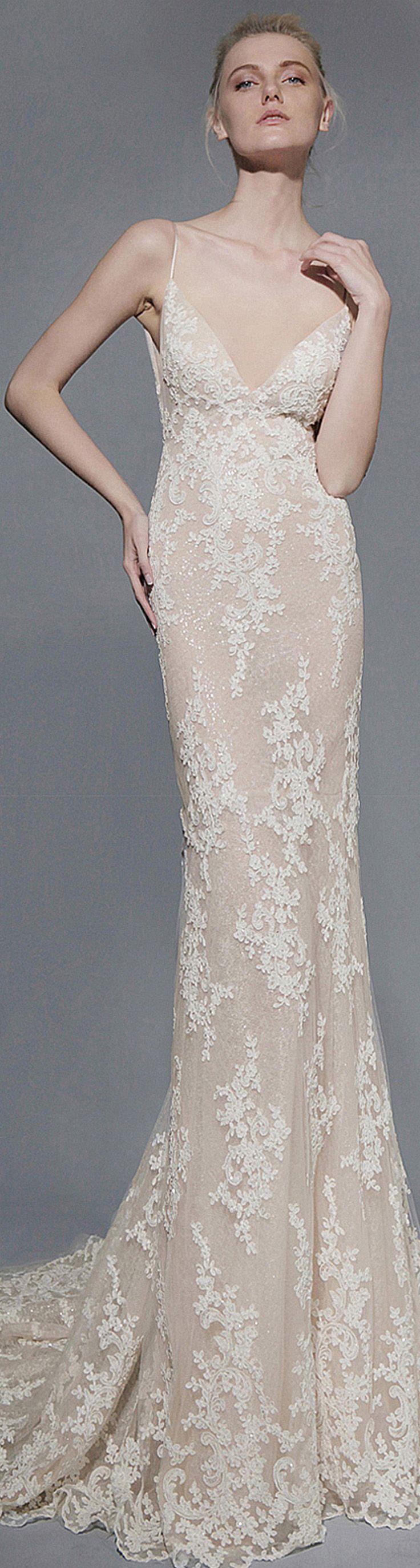 Victoria KyriaKides 2016 Bridal Collection. Iole Dress #saks #bride ...