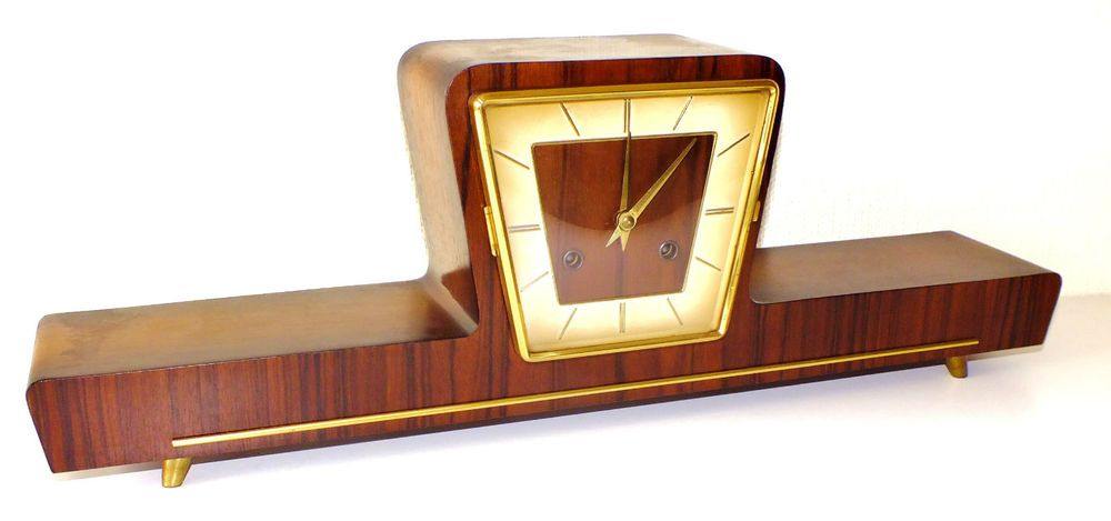 Hermle art deco mantel clock
