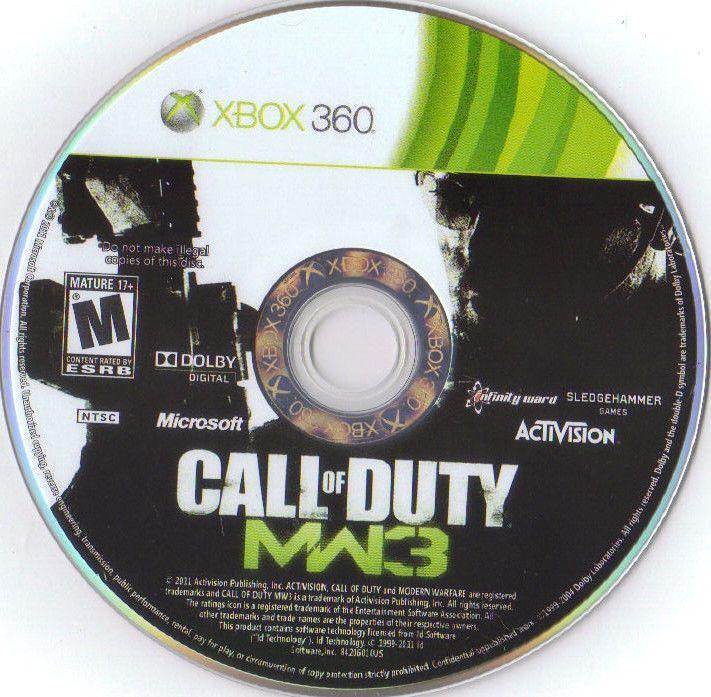 Call Of Duty Modern Warfare 3 Xbox 360 2011 Modern Warfare Call Of Duty Xbox 360