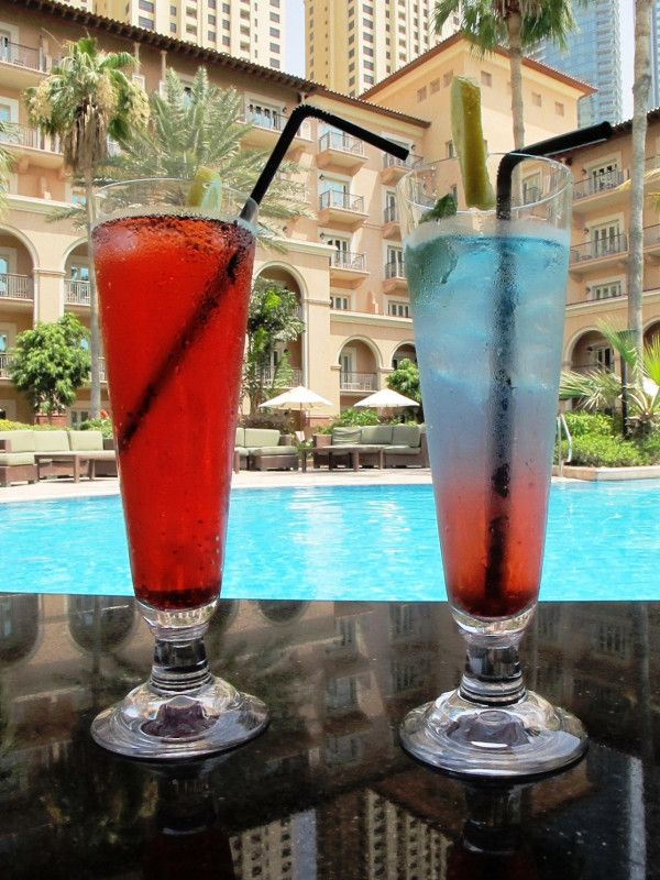 Ritz Carlton Dubai cocktail