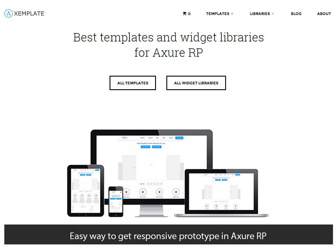 Axemplate Best Templates And Widget Libraries For Axure Rp Axure