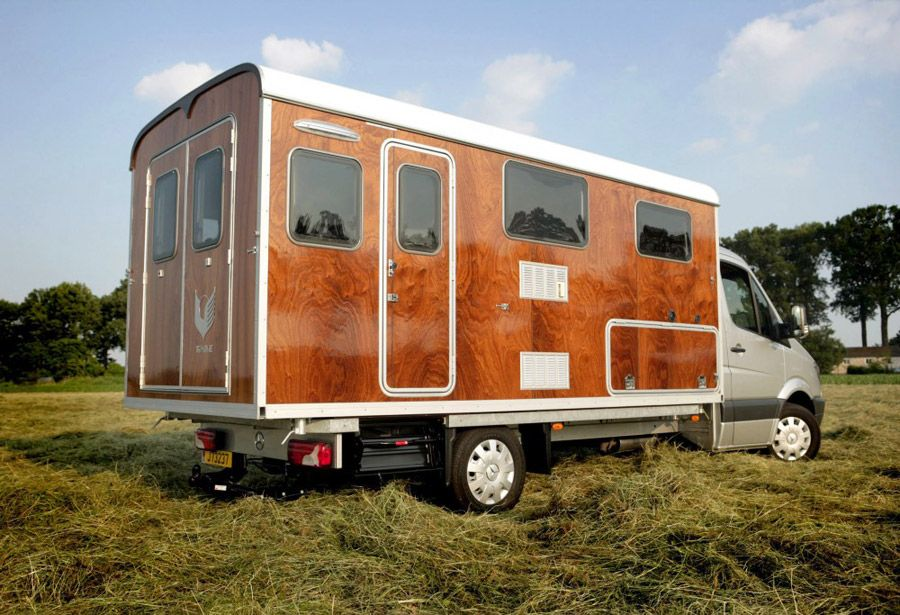 camperhousetruck with removable cabin shell made in the netherlands by tonke campers - Shell Homes 2