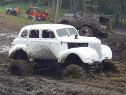 S Chevrolet Deluxe Sedan Mud Bogger Where The Pavement Ends