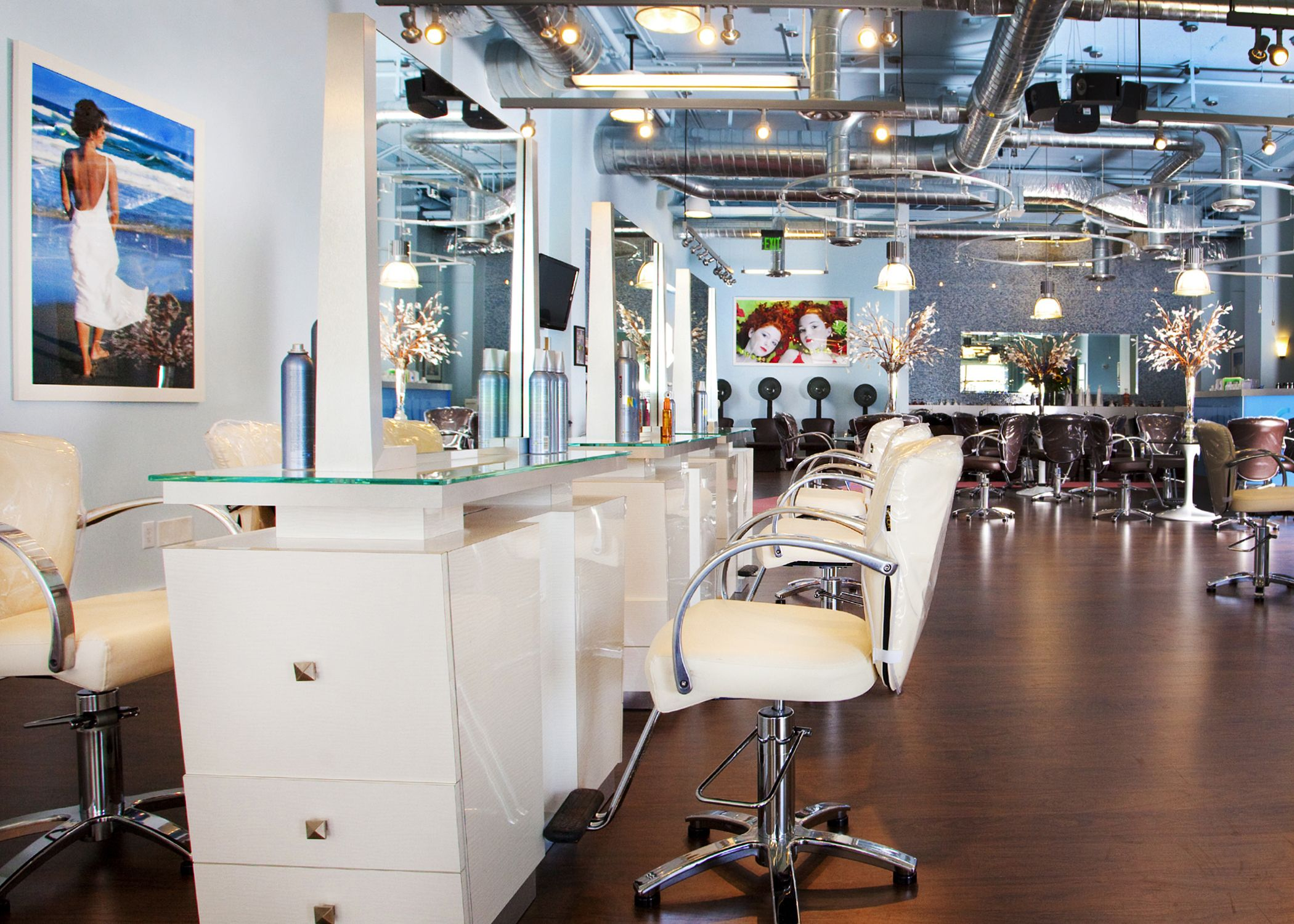 1000+ images about Hair salons on Pinterest | Waiting area ...