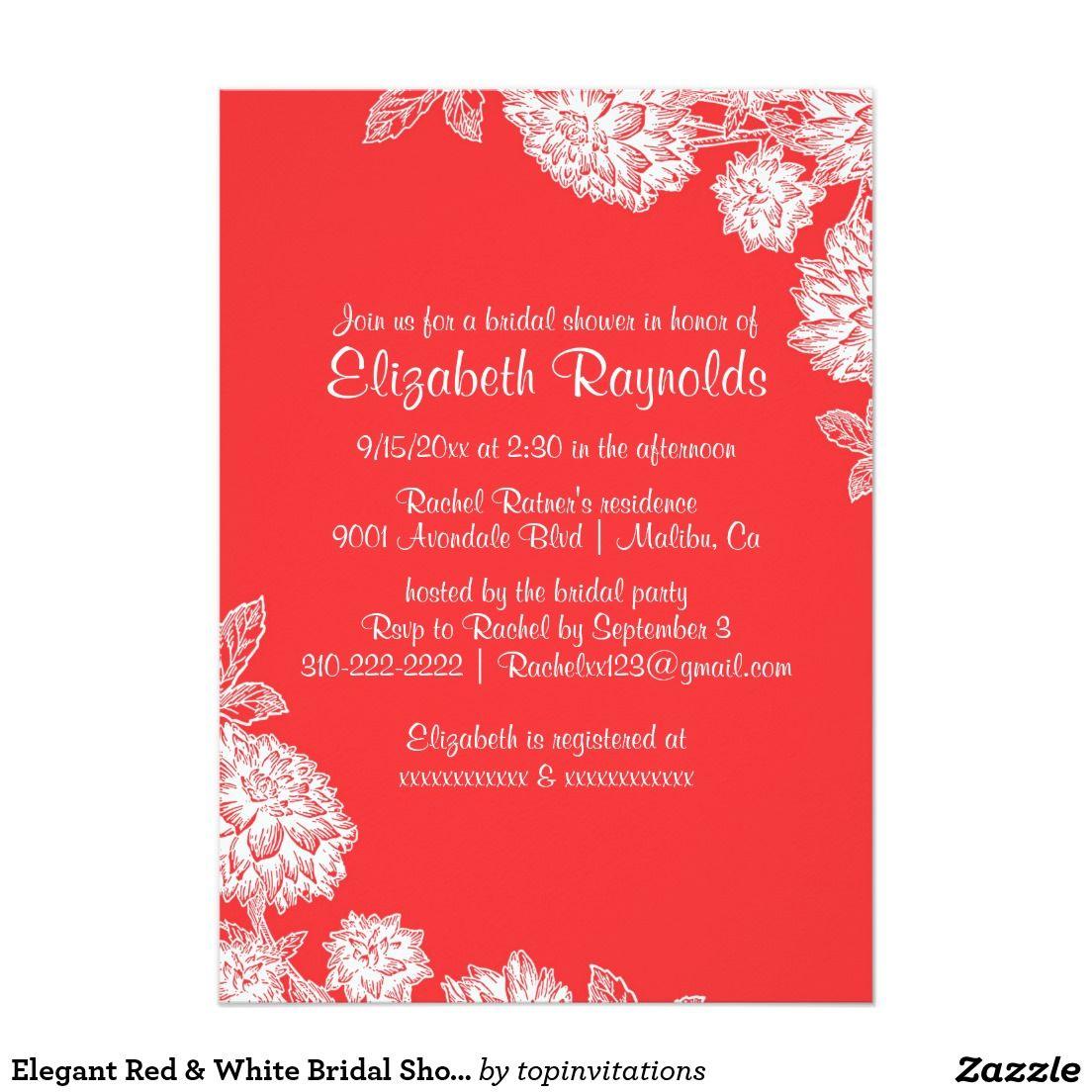 Perfect Bridal Shower E Invites Image - Invitations and ...