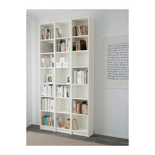 BILLY Boekenkast, wit - Ikea, Kasten en Eethoek