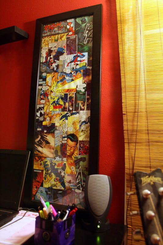 Comic Book Wall Art   HOME SWEET HOME