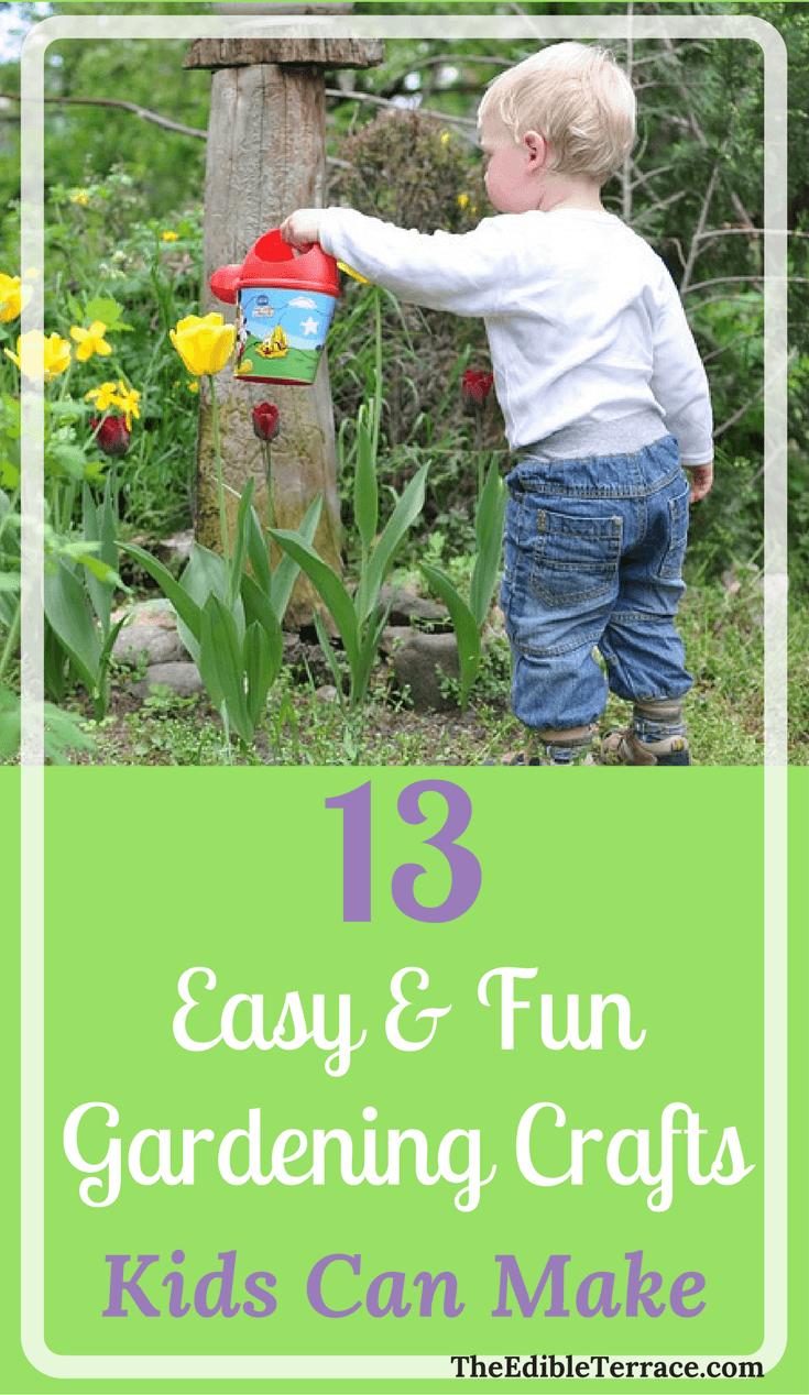 13 Easy Fun Gardening Crafts Kids Can Make Greenhouses