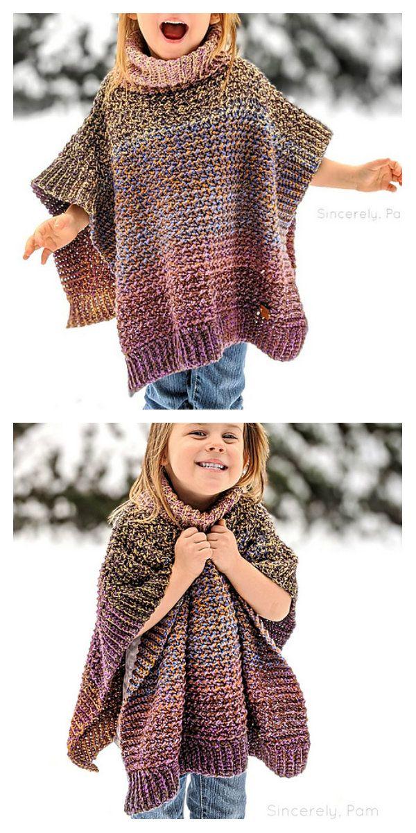 Lucky Penny Poncho Crochet