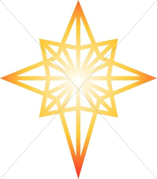 glowing star of bethlehem clipart epiphany clipart products i rh pinterest com bethlehem star clipart free bethlehem clipart free