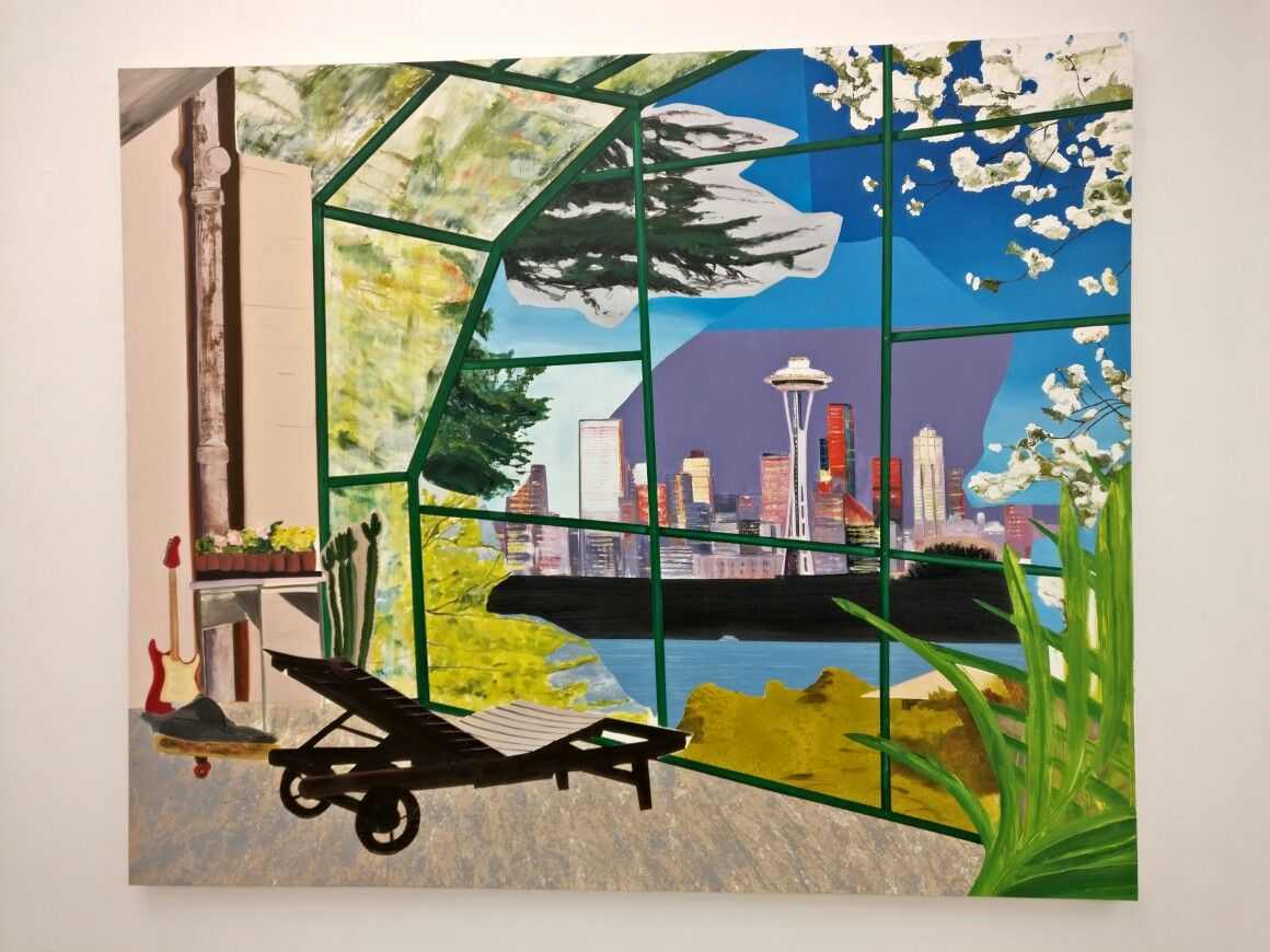 Dexter Dalwood Kurt Cobain\'s Greenhouse   Art   Pinterest