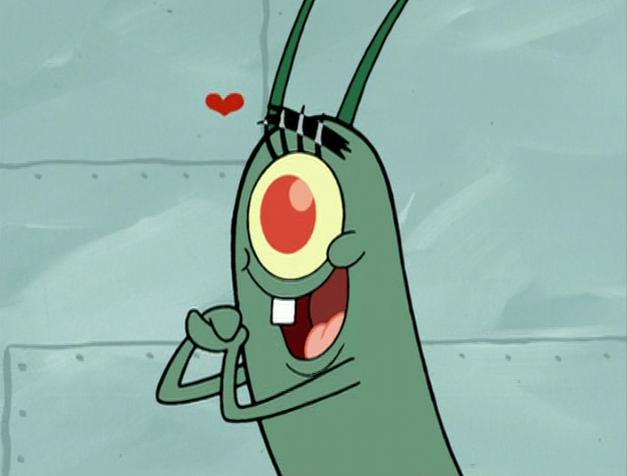 plankton from spongebob squarepants image plankton in