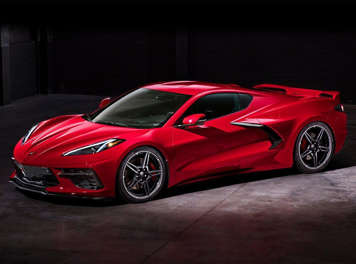 2020 Corvette Stingray Is Officially a Mid-Engined Monster ...