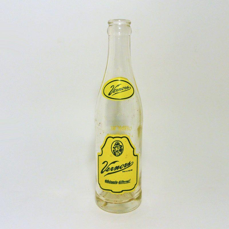 Squishy Drink Bottles : Vintage Vernors 8 oz. Soft Drink Bottle - BTSDW799 - Vintage 8 oz. Vernors ACL Soft Drink Bottle ...
