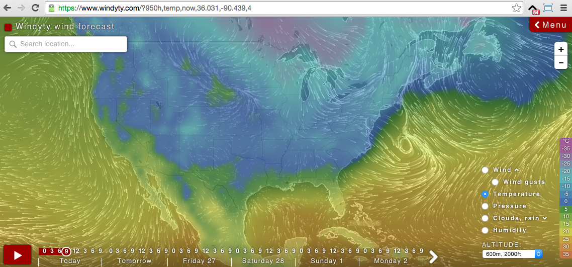 Windy As Forecasted Wind Map Weather Wind Interactive Map